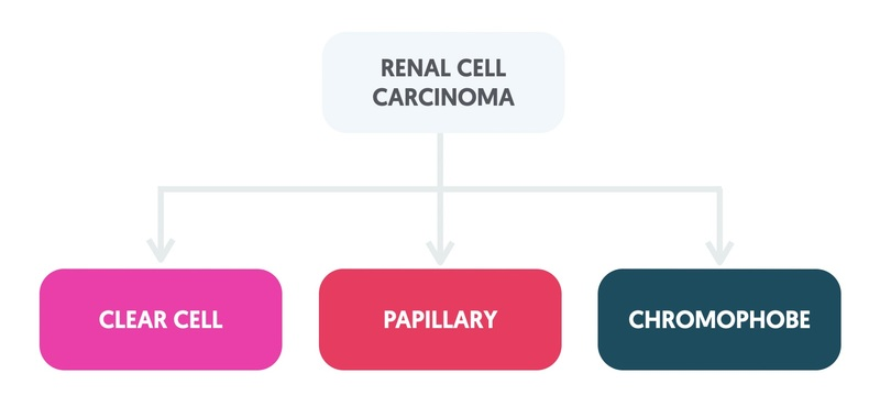 Types of renal cell cancer