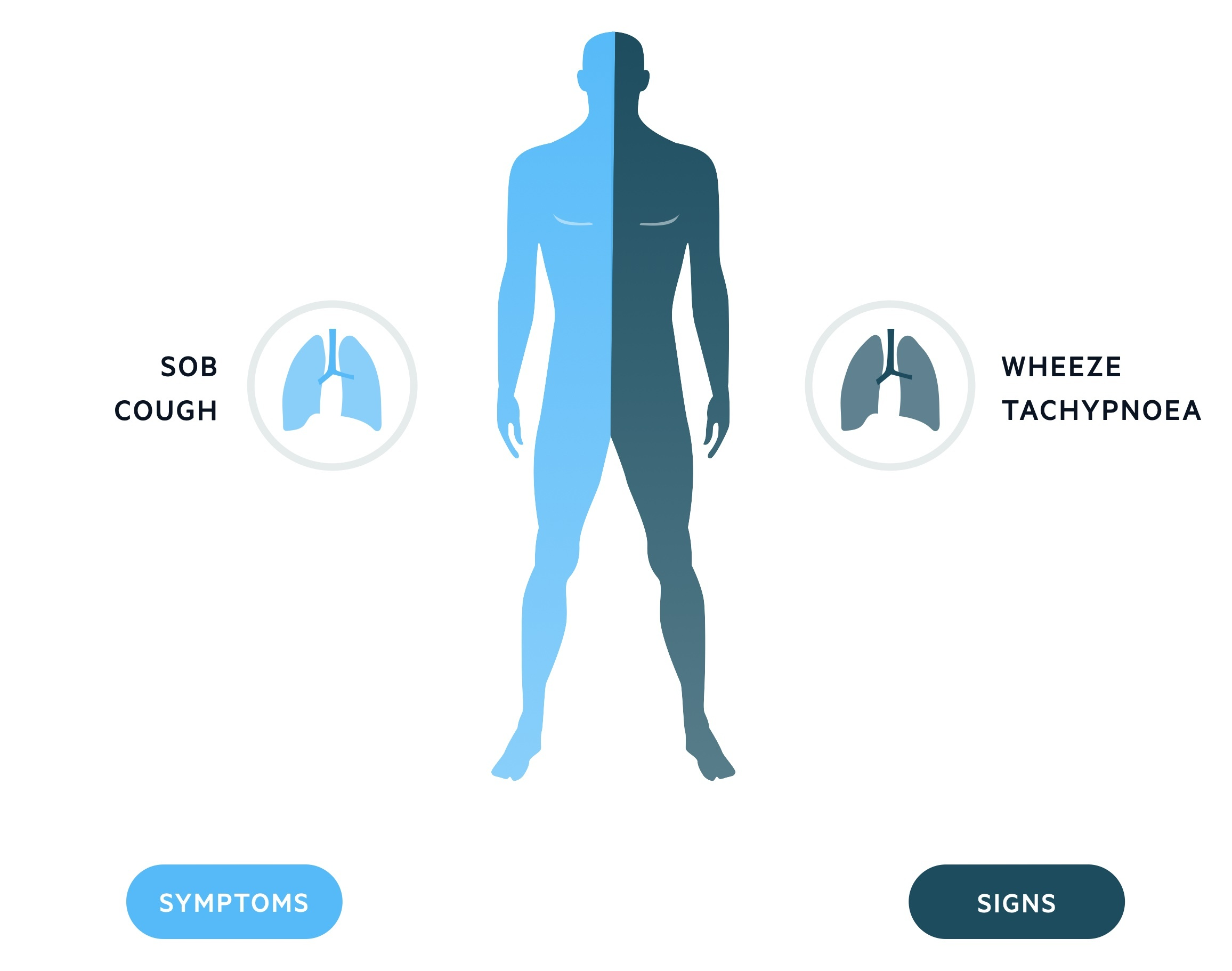 Clinical features of asthma