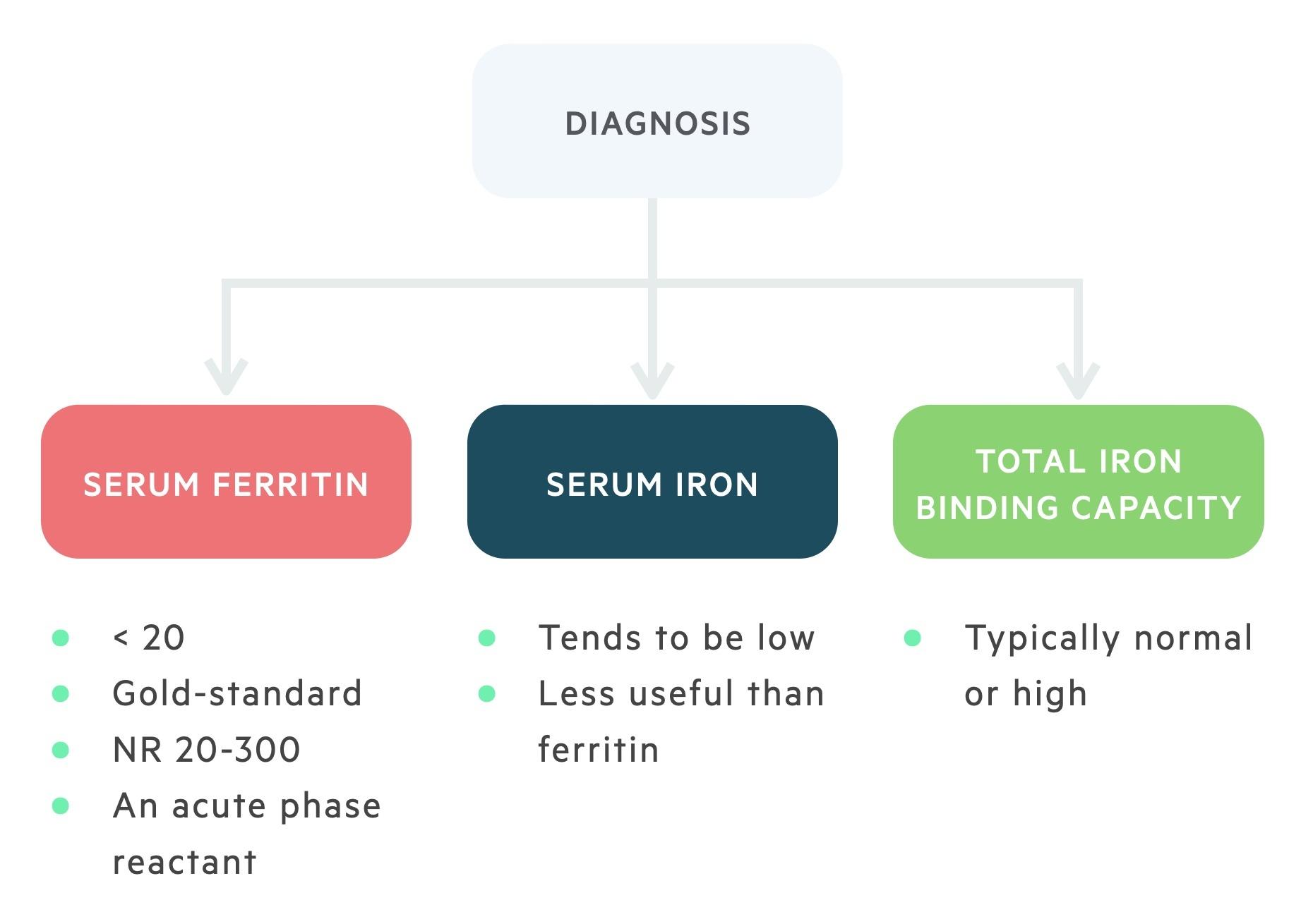 Diagnosis of IDA