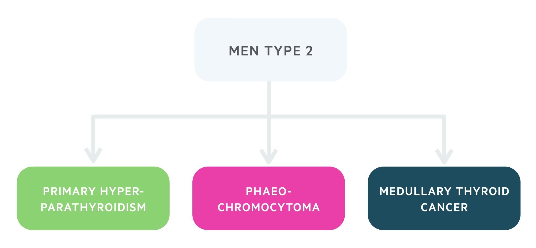 Manifestations of MEN type 2